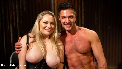 Photo number 19 from A Dom's Domme: Divine Bitch Aiden Starr dominates beefcake male top shot for Divine Bitches on Kink.com. Featuring Aiden Starr and Dominic Pacifico in hardcore BDSM & Fetish porn.
