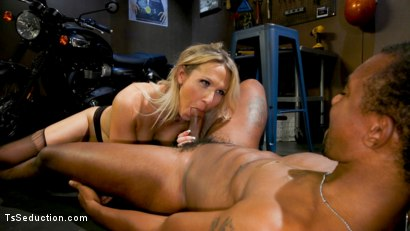 Photo number 9 from Slag Angels on Wheels: Episode 2 shot for TS Seduction on Kink.com. Featuring Kayleigh Coxx and Buck Wright in hardcore BDSM & Fetish porn.