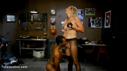 Photo number 11 from Slag Angels on Wheels: Episode 2 shot for TS Seduction on Kink.com. Featuring Kayleigh Coxx and Buck Wright in hardcore BDSM & Fetish porn.