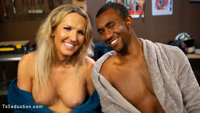 Photo number 16 from Slag Angels on Wheels: Episode 2 shot for TS Seduction on Kink.com. Featuring Kayleigh Coxx and Buck Wright in hardcore BDSM & Fetish porn.
