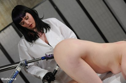 Photo number 23 from The Doctor is in. shot for Wasteland on Kink.com. Featuring Mistress Irony and Sicilia Ricci in hardcore BDSM & Fetish porn.