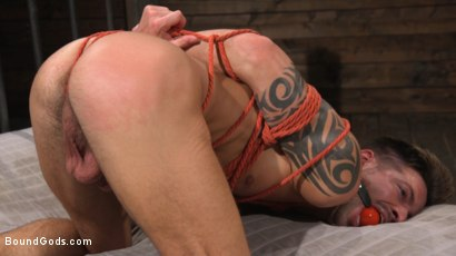 Photo number 19 from Stepdaddy's Dungeon   shot for Bound Gods on Kink.com. Featuring Casey Everett and Jason Collins in hardcore BDSM & Fetish porn.
