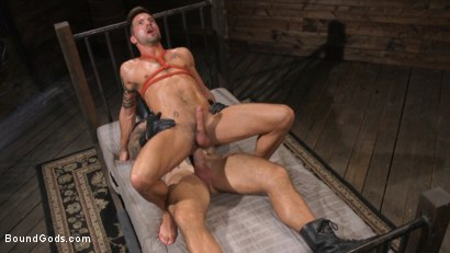 Photo number 24 from Stepdaddy's Dungeon   shot for Bound Gods on Kink.com. Featuring Casey Everett and Jason Collins in hardcore BDSM & Fetish porn.