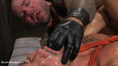 Photo number 27 from Stepdaddy's Dungeon   shot for Bound Gods on Kink.com. Featuring Casey Everett and Jason Collins in hardcore BDSM & Fetish porn.