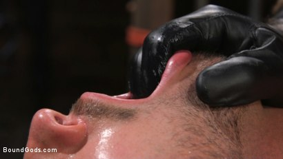 Photo number 8 from Stepdaddy's Dungeon   shot for Bound Gods on Kink.com. Featuring Casey Everett and Jason Collins in hardcore BDSM & Fetish porn.