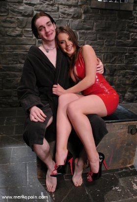 Photo number 1 from Penny Flame and Kade shot for Men In Pain on Kink.com. Featuring Penny Flame and Kade in hardcore BDSM & Fetish porn.