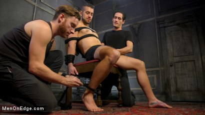 Photo number 2 from Over the Edge: Handsome Stud Dante Colle Unable to Resist Master Keys shot for Men On Edge on Kink.com. Featuring Dante Colle in hardcore BDSM & Fetish porn.