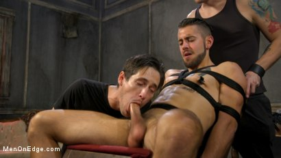 Photo number 12 from Over the Edge: Handsome Stud Dante Colle Unable to Resist Master Keys shot for Men On Edge on Kink.com. Featuring Dante Colle in hardcore BDSM & Fetish porn.