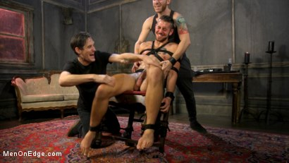 Photo number 14 from Over the Edge: Handsome Stud Dante Colle Unable to Resist Master Keys shot for Men On Edge on Kink.com. Featuring Dante Colle in hardcore BDSM & Fetish porn.