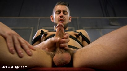 Photo number 4 from Over the Edge: Handsome Stud Dante Colle Unable to Resist Master Keys shot for Men On Edge on Kink.com. Featuring Dante Colle in hardcore BDSM & Fetish porn.