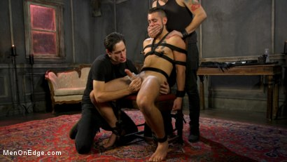 Photo number 7 from Over the Edge: Handsome Stud Dante Colle Unable to Resist Master Keys shot for Men On Edge on Kink.com. Featuring Dante Colle in hardcore BDSM & Fetish porn.