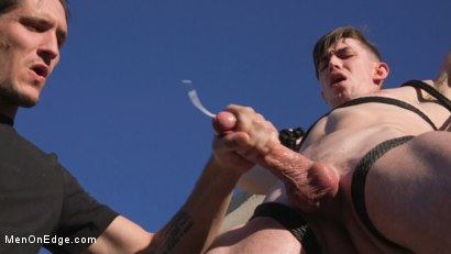 Photo number 24 from Jack Hunter: Driven to the Edge shot for Men On Edge on Kink.com. Featuring Jack Hunter in hardcore BDSM & Fetish porn.