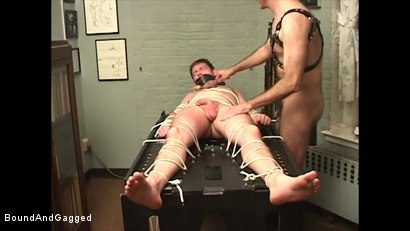 Photo number 16 from Boysitting: Impact shot for Bound And Gagged on Kink.com. Featuring Oskar and Sean Patrick in hardcore BDSM & Fetish porn.