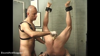 Photo number 22 from Boysitting: Impact shot for Bound And Gagged on Kink.com. Featuring Oskar and Sean Patrick in hardcore BDSM & Fetish porn.