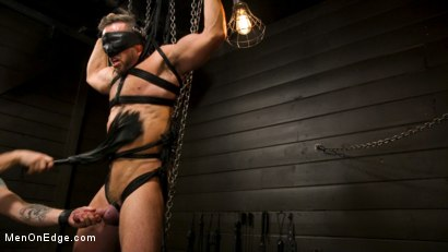 Photo number 12 from KinkMen Presents CONSTRAINED: Athletic Men Bound, Punished, and Edged shot for Men On Edge on Kink.com. Featuring Alex Mecum and Casey Jacks in hardcore BDSM & Fetish porn.