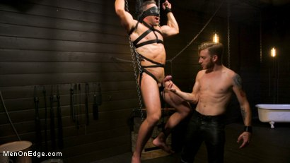 Photo number 16 from KinkMen Presents CONSTRAINED: Athletic Men Bound, Punished, and Edged shot for Men On Edge on Kink.com. Featuring Alex Mecum and Casey Jacks in hardcore BDSM & Fetish porn.