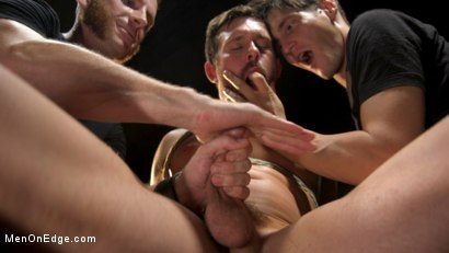 Photo number 17 from KinkMen Presents CONSTRAINED: Athletic Men Bound, Punished, and Edged shot for Men On Edge on Kink.com. Featuring Alex Mecum and Casey Jacks in hardcore BDSM & Fetish porn.