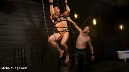 Photo number 20 from KinkMen Presents CONSTRAINED: Athletic Men Bound, Punished, and Edged shot for Men On Edge on Kink.com. Featuring Alex Mecum and Casey Jacks in hardcore BDSM & Fetish porn.