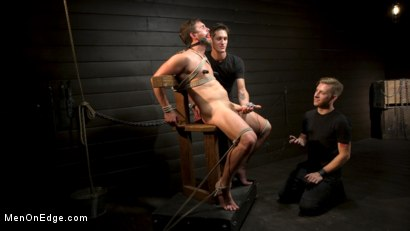 Photo number 7 from KinkMen Presents CONSTRAINED: Athletic Men Bound, Punished, and Edged shot for Men On Edge on Kink.com. Featuring Alex Mecum and Casey Jacks in hardcore BDSM & Fetish porn.