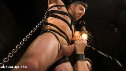 Photo number 18 from KinkMen Presents CONSTRAINED: Athletic Men Bound, Punished, and Edged shot for Men On Edge on Kink.com. Featuring Alex Mecum and Casey Jacks in hardcore BDSM & Fetish porn.