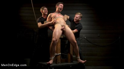 Photo number 19 from KinkMen Presents CONSTRAINED: Athletic Men Bound, Punished, and Edged shot for Men On Edge on Kink.com. Featuring Alex Mecum and Casey Jacks in hardcore BDSM & Fetish porn.