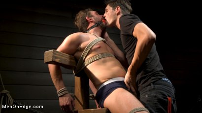 Photo number 3 from KinkMen Presents CONSTRAINED: Athletic Men Bound, Punished, and Edged shot for Men On Edge on Kink.com. Featuring Alex Mecum and Casey Jacks in hardcore BDSM & Fetish porn.