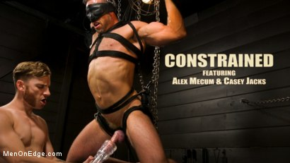 KinkMen Presents CONSTRAINED: Athletic Men Bound, Punished, and Edged