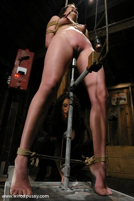 Photo number 3 from Bobbi Starr shot for Wired Pussy on Kink.com. Featuring Bobbi Starr in hardcore BDSM & Fetish porn.