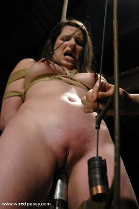 Photo number 4 from Bobbi Starr shot for Wired Pussy on Kink.com. Featuring Bobbi Starr in hardcore BDSM & Fetish porn.