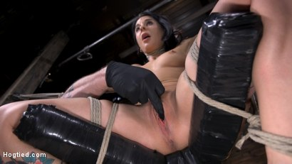 Photo number 1 from Joanna Angel Submits to The Pope! shot for Hogtied on Kink.com. Featuring Joanna Angel in hardcore BDSM & Fetish porn.
