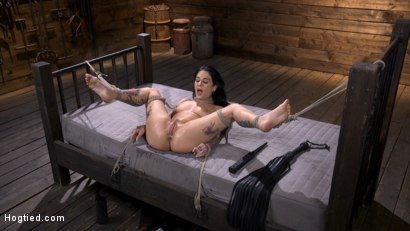 Photo number 15 from Joanna Angel Submits to The Pope! shot for Hogtied on Kink.com. Featuring Joanna Angel in hardcore BDSM & Fetish porn.