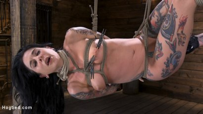 Photo number 7 from Joanna Angel Submits to The Pope! shot for Hogtied on Kink.com. Featuring Joanna Angel in hardcore BDSM & Fetish porn.