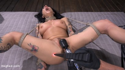 Photo number 11 from Joanna Angel Submits to The Pope! shot for Hogtied on Kink.com. Featuring Joanna Angel in hardcore BDSM & Fetish porn.