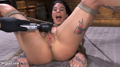 Photo number 12 from Joanna Angel Submits to The Pope! shot for Hogtied on Kink.com. Featuring Joanna Angel in hardcore BDSM & Fetish porn.