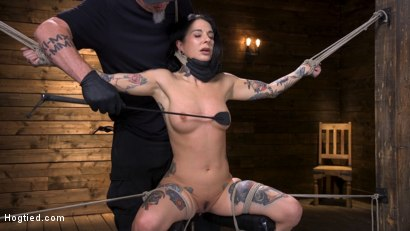 Photo number 3 from Joanna Angel Submits to The Pope! shot for Hogtied on Kink.com. Featuring Joanna Angel in hardcore BDSM & Fetish porn.