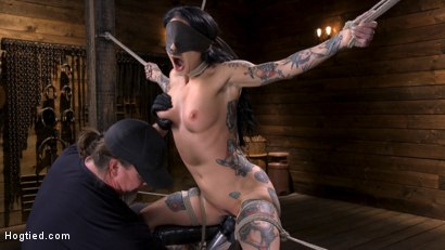 Photo number 4 from Joanna Angel Submits to The Pope! shot for Hogtied on Kink.com. Featuring Joanna Angel in hardcore BDSM & Fetish porn.