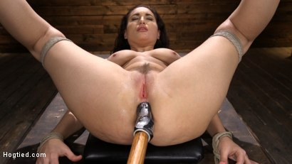 Photo number 11 from Curvy Slut Gabriella Paltrova in Grueling Rope Bondage and Tormented shot for Hogtied on Kink.com. Featuring Gabriella Paltrova in hardcore BDSM & Fetish porn.