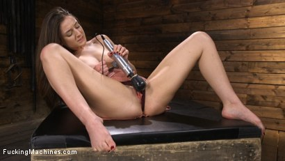 Photo number 3 from Fresh Meat: Kenzi Ryans is Machine Fucked in Bondage shot for Fucking Machines on Kink.com. Featuring Kenzi Ryans in hardcore BDSM & Fetish porn.