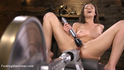 Photo number 10 from Fresh Meat: Kenzi Ryans is Machine Fucked in Bondage shot for Fucking Machines on Kink.com. Featuring Kenzi Ryans in hardcore BDSM & Fetish porn.