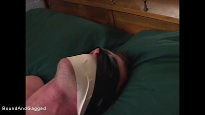Photo number 16 from Boysitting: Dinner and Bedtime shot for Bound And Gagged on Kink.com. Featuring Oskar and Sean Patrick in hardcore BDSM & Fetish porn.