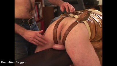 Photo number 10 from Boysitting: Dinner and Bedtime shot for Bound And Gagged on Kink.com. Featuring Oskar and Sean Patrick in hardcore BDSM & Fetish porn.
