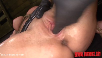 Photo number 16 from Layla Price Begs for Sybian, Rope Bondage, Rough Sex & Deepthroat BJ shot for Sexual Disgrace on Kink.com. Featuring Layla Price and Bruno Dickemz in hardcore BDSM & Fetish porn.