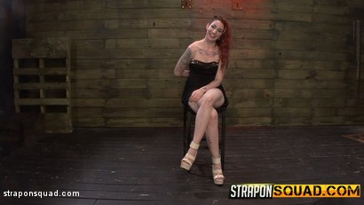 Photo number 2 from Rope Suspension BDSM for Sheena Rose with Mila Blaze & Alexa Rydell shot for Strapon Squad on Kink.com. Featuring Sheena Rose, Mila Blaze and Alexa Rydell in hardcore BDSM & Fetish porn.