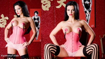 Photo number 7 from Stuff My Holes you Filthy Gimps shot for Harmony Fetish on Kink.com. Featuring Aletta Ocean, George Uhl and Oliver in hardcore BDSM & Fetish porn.