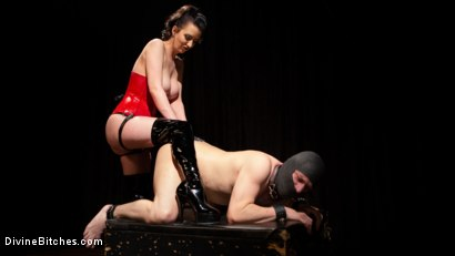 Photo number 15 from A Divine New Years: Cherry Torn celebrates with slave's screams shot for Divine Bitches on Kink.com. Featuring Cherry Torn and Marcelo in hardcore BDSM & Fetish porn.