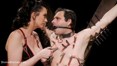 Photo number 4 from A Divine New Years: Cherry Torn celebrates with slave's screams shot for Divine Bitches on Kink.com. Featuring Cherry Torn and Marcelo in hardcore BDSM & Fetish porn.