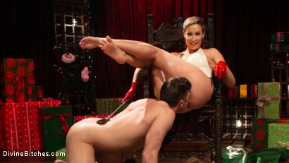 Photo number 17 from Holiday Tribute: Ryan Keely receives new toy Lance Hart shot for Divine Bitches on Kink.com. Featuring Ryan Keely and Lance Hart in hardcore BDSM & Fetish porn.
