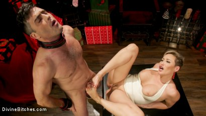 Photo number 9 from Holiday Tribute: Ryan Keely receives new toy Lance Hart shot for Divine Bitches on Kink.com. Featuring Ryan Keely and Lance Hart in hardcore BDSM & Fetish porn.