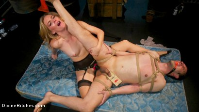Photo number 15 from Mona Wales milks her daddy's new associate for assets  shot for Divine Bitches on Kink.com. Featuring Mona Wales and Papa Georgio in hardcore BDSM & Fetish porn.