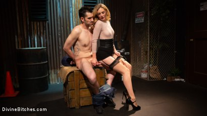 Photo number 17 from Mona Wales milks her daddy's new associate for assets  shot for Divine Bitches on Kink.com. Featuring Mona Wales and Papa Georgio in hardcore BDSM & Fetish porn.